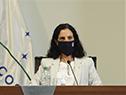 Ministra de Economía, Azucena Arbeleche