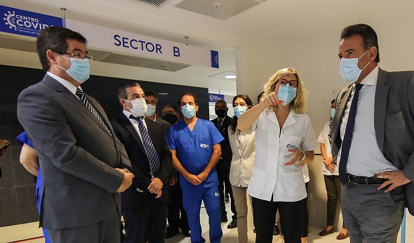 Autoridades participaron de inauguración de centro de referencia COVID-19
