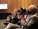 Autoridades en el lanzamiento del programa Sembrando Inglés Comercial