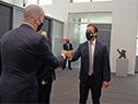 Presidente Luis Lacalle Pou recibe a delegación del Gobierno de Estados Unidos