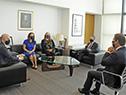Presidente Luis Lacalle Pou reunido con delegación del Gobierno de Estados Unidos