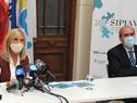 Autoridades en la presentación del informe anual Sipiav 2020