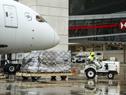 Arribo de donación de equipamiento médico del Reino de Arabia Saudita