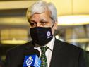 Embajador de Arabia Saudita en Uruguay, Eyad Ghazi Hakeem