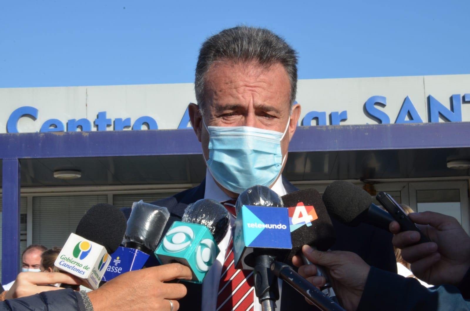 Ministro de Salud, Daniel Salinas
