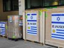 Autoridades de los ministerios de Relaciones Exteriores, Salud Pública y de la Embajada de Israel recibieron donación de equipamiento médico de Israel