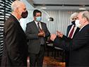 Autoridades de ASSE, Cancillería y Salud Pública reciben a delegación de médicos israelí especializada en tratamiento de COVID-19