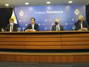 Presidente Luis Lacalle Pou encabezó conferencia de prensa en Torre Ejecutiva