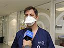 Médico senior de la Unidad de CTI de Coronavirus, Rony Eshkenazy