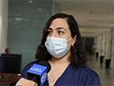 Licenciada en Enfermería de la Unidad de CTI de Coronavirus, Moriya Suliman