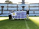 Especialistas del hospital israelí Sheba, visitaron las instalaciones del estadio Centenario