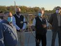 Ministro de Transporte y Obras Públicas, Luis Alberto Heber, encabezó inauguración de puente sobre el arroyo Agua Sucia
