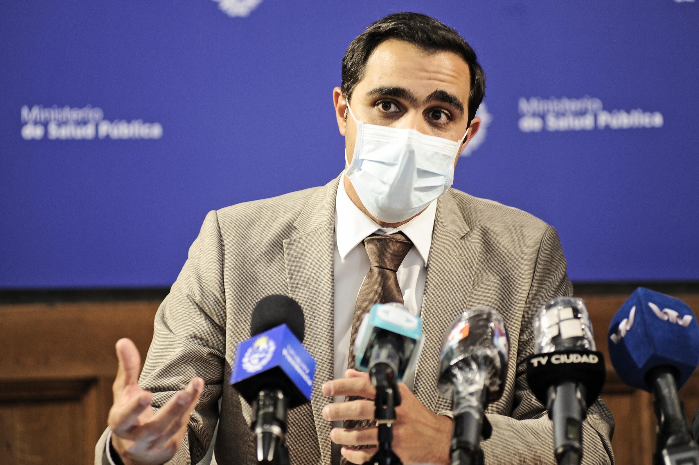Subsecretario de Salud Publica, José Luis Satdjian