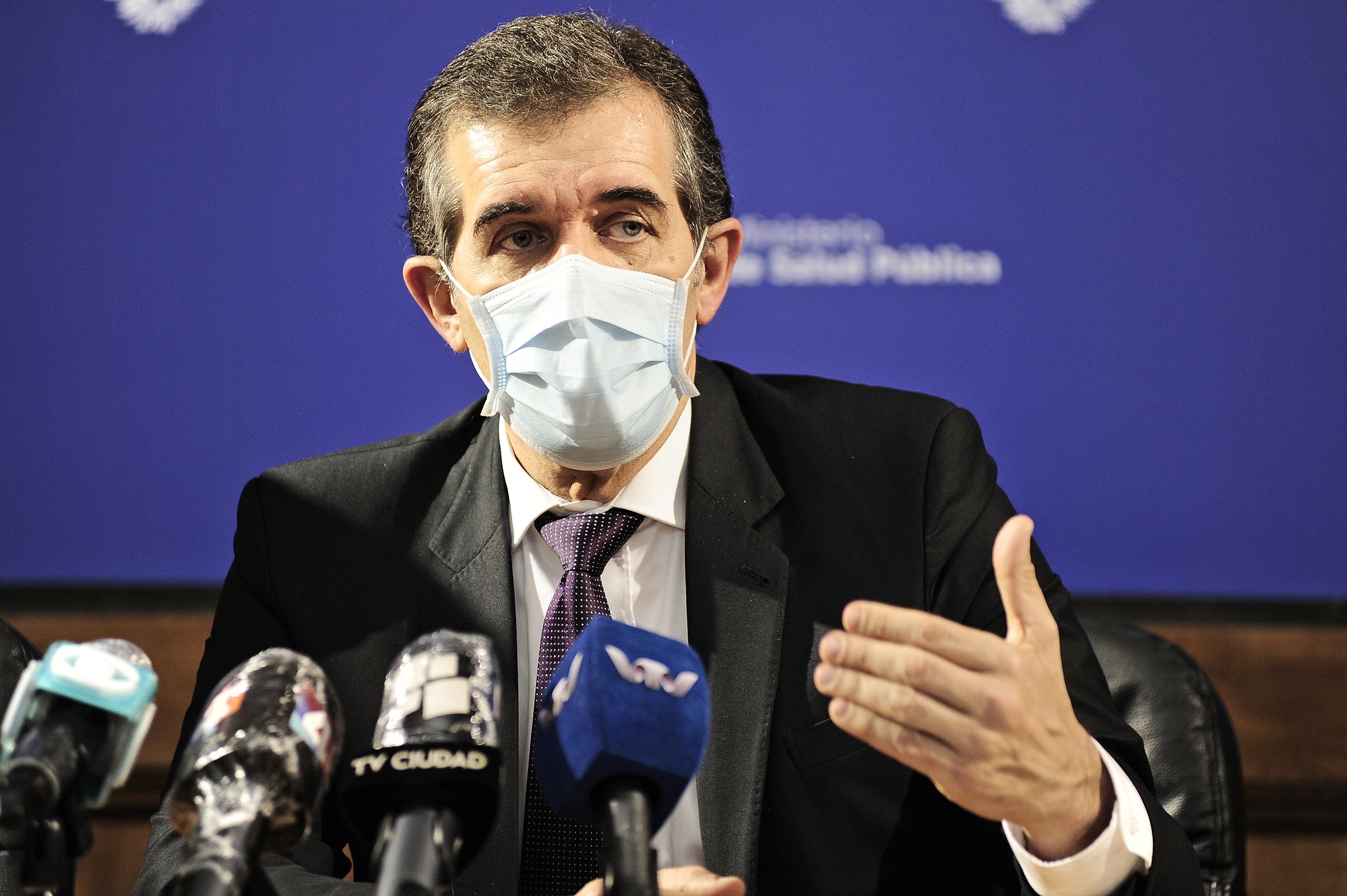 Director general de Salud, Miguel Asqueta