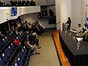 Ministro de Trabajo y Seguridad Social, Pablo Mieres, encabezó presentación de portal Mi Trabajo Futuro