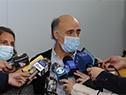 Pablo Mieres en declaraciones a la prensa