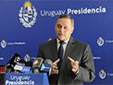 Secretario de Presidencia, Álvaro Delgado, en conferencia de prensa