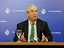 Ministro de Transporte, Luis Alberto Heber