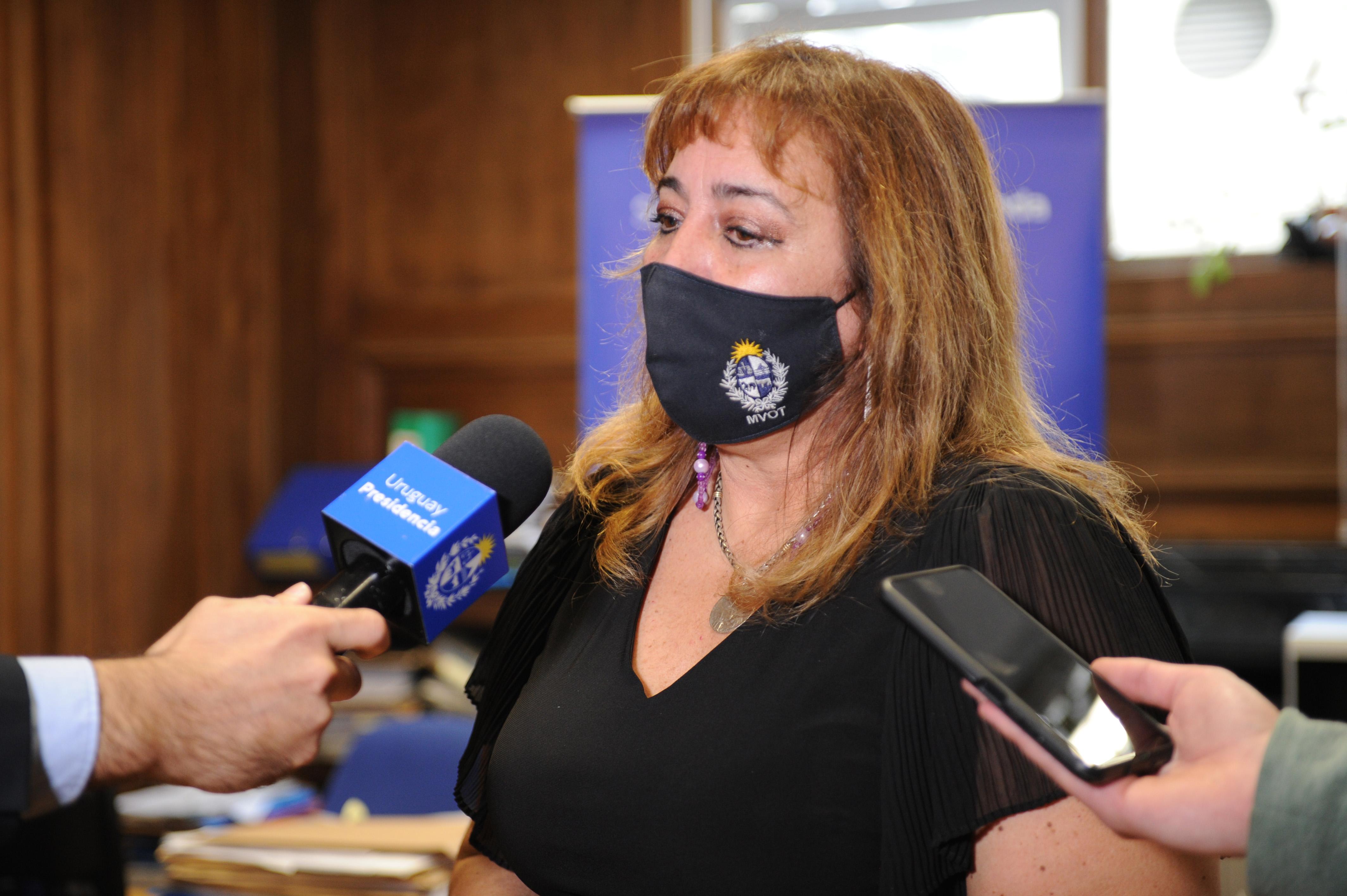Ministra de Vivienda y Ordenamiento Territorial, Irene Moreira