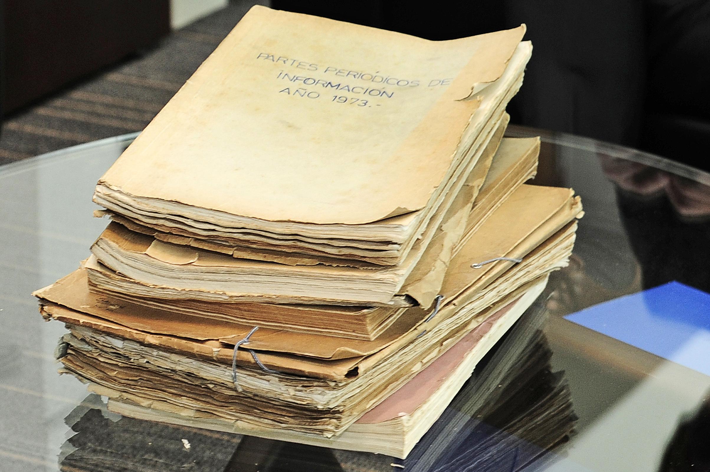 Documentación entregada por autoridades nacionales