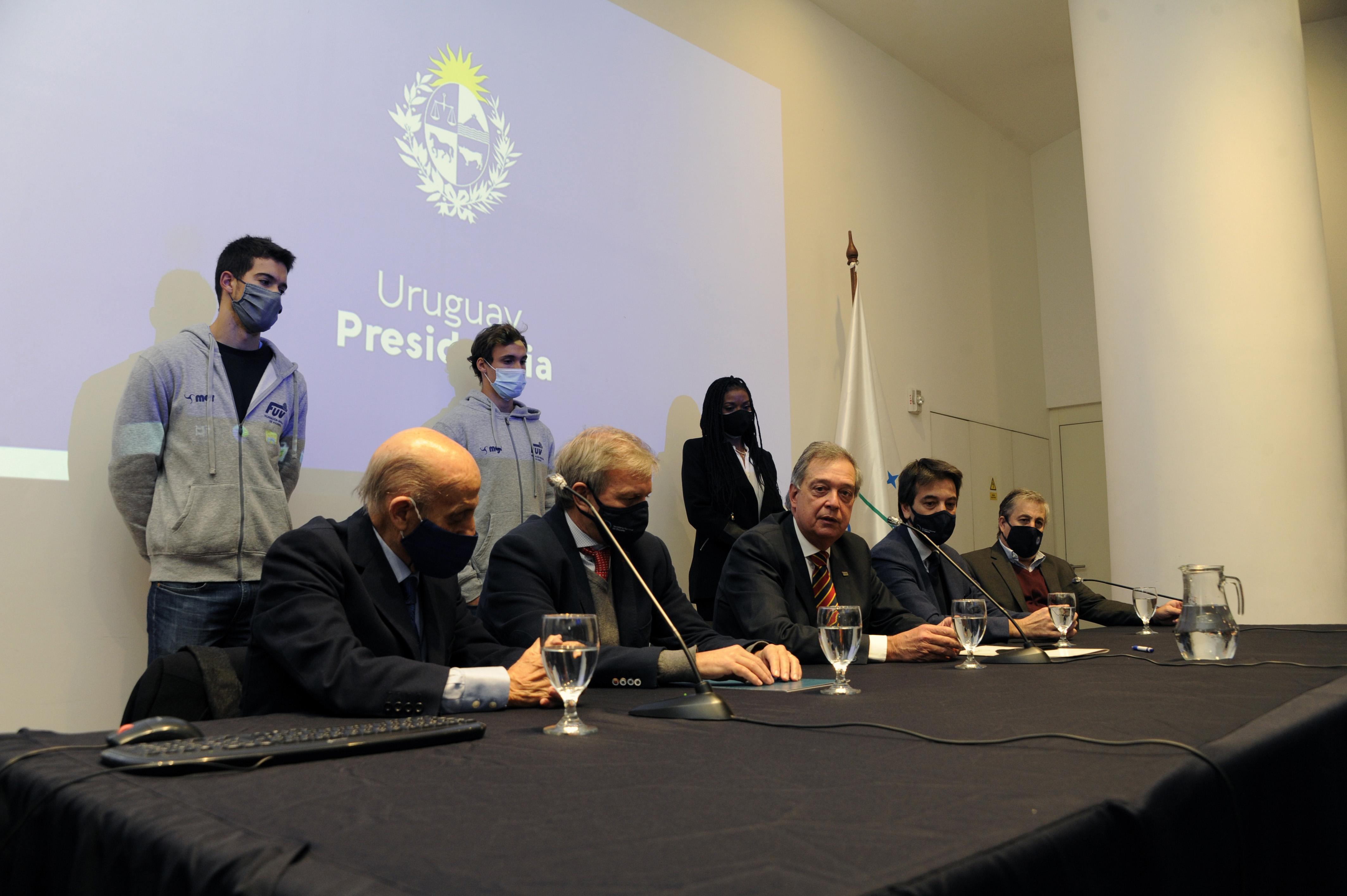 Firma de convenio entre Secretaría Nacional del Deporte e Instituto Nacional de Carnes