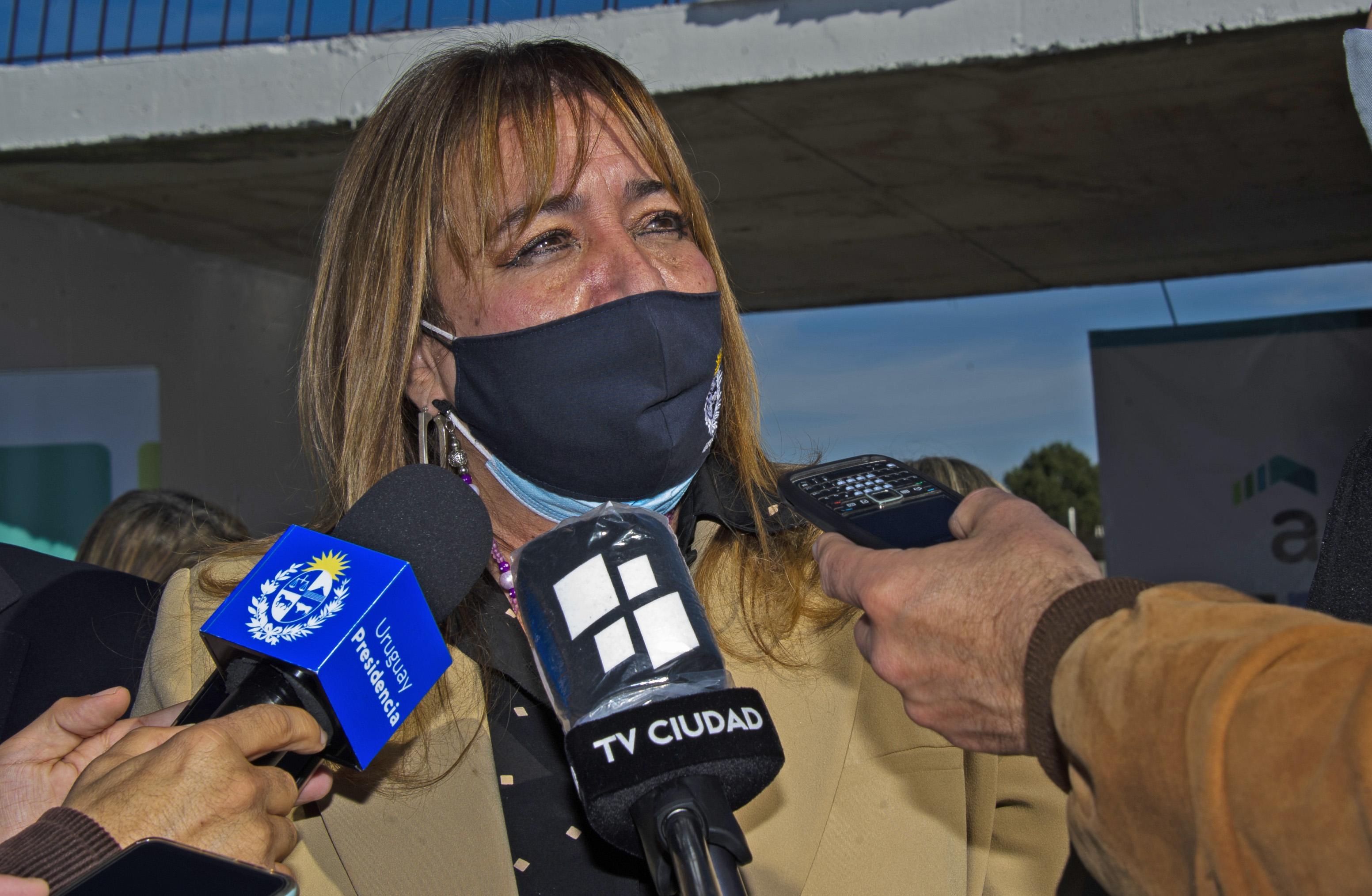 Ministra de Vivienda, Irene Moreira