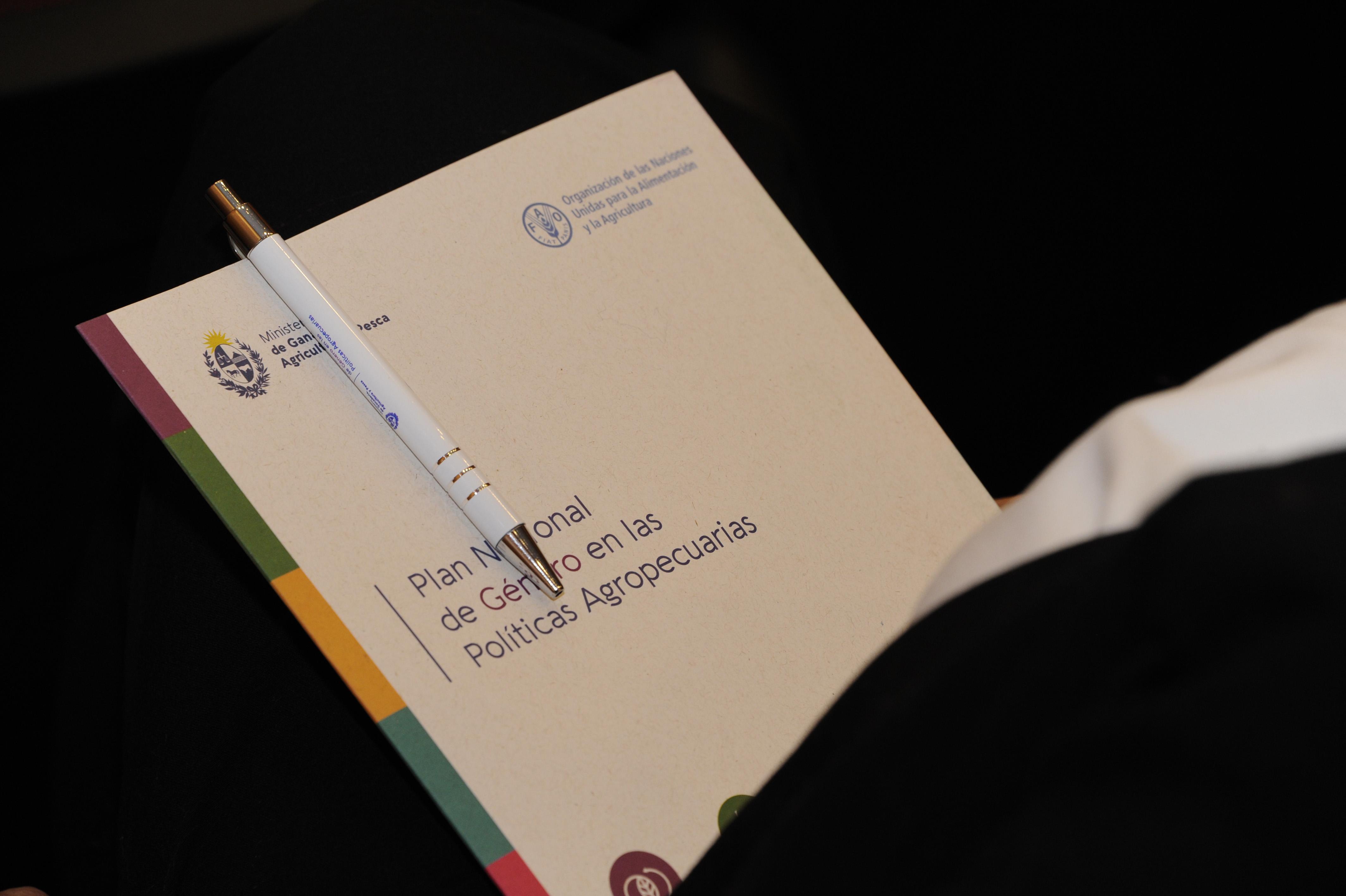 Lanzamiento del Plan Nacional de Género en las Políticas Agropecuarias