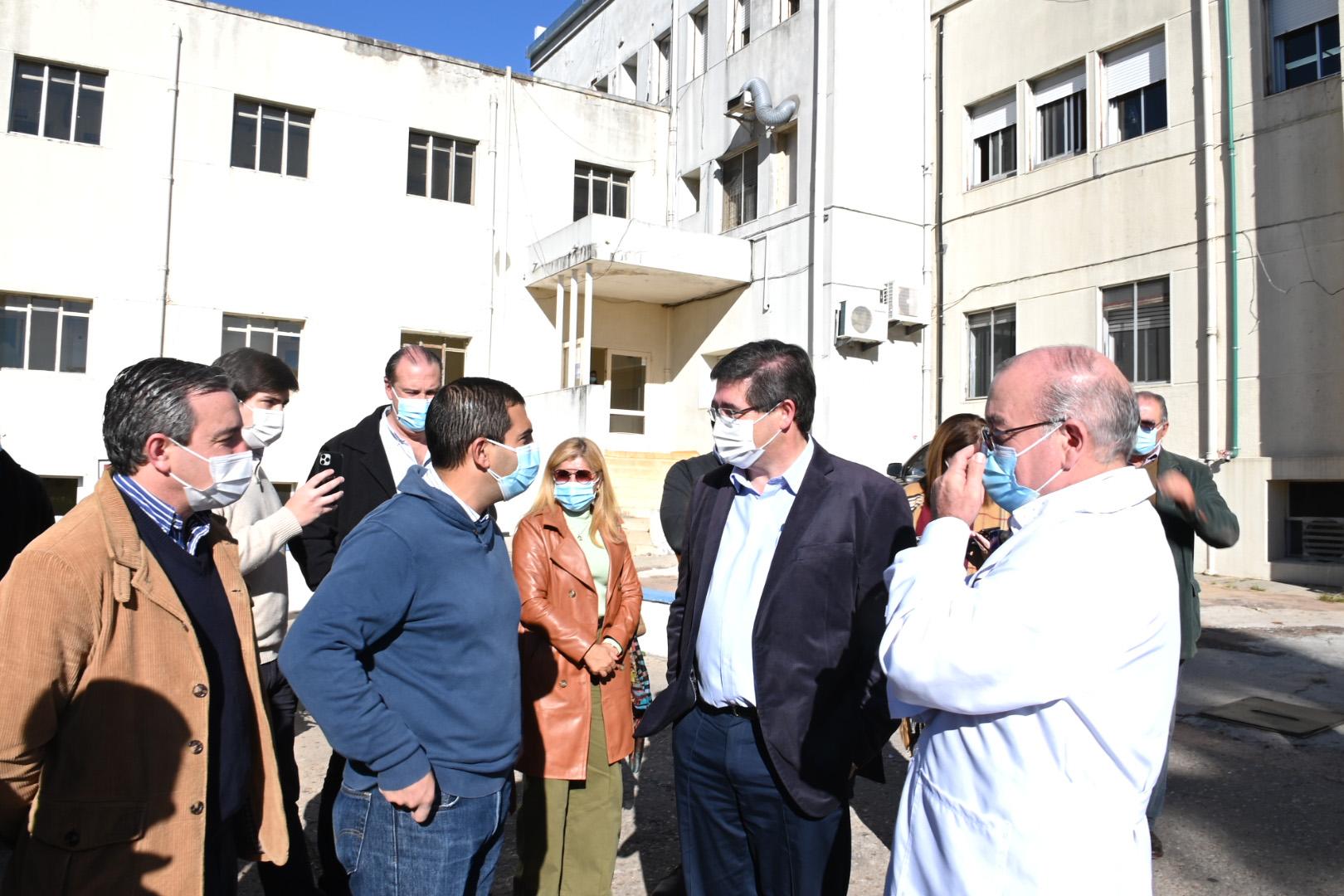 Autoridades de ASSE en Hospital de Melo