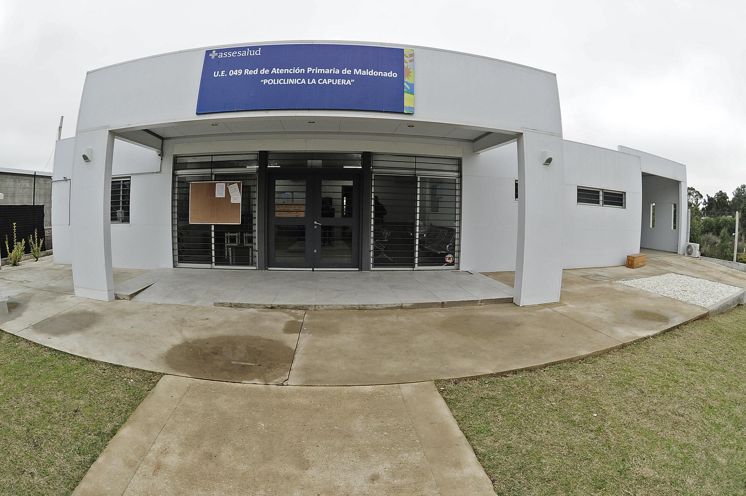 Policlínica de ASSE en La Capuera, Maldonado