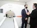 Acto de inauguración de tomógrafo en hospital de Maldonado