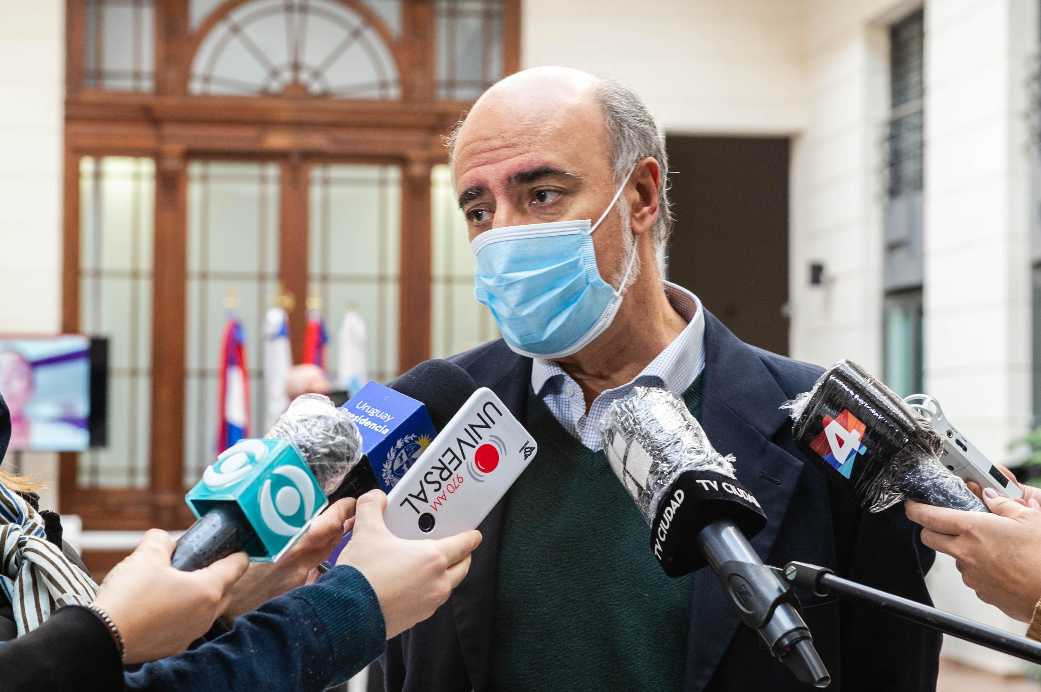 Ministro de Trabajo, Pablo Mieres