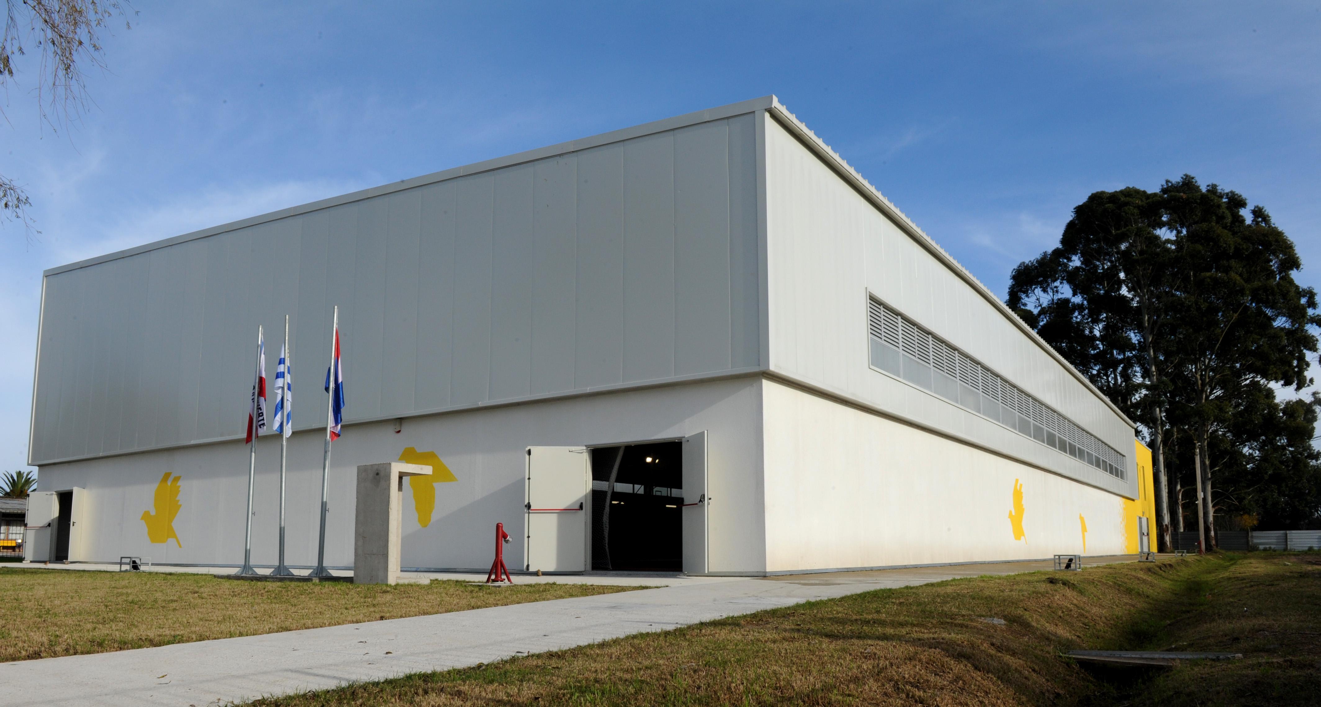 Inauguración del complejo polideportivo en Progreso, Canelones