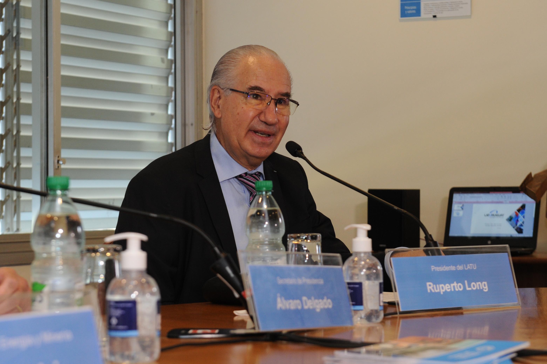 Presidente del Laboratorio Tecnológico del Uruguay, Ruperto Long