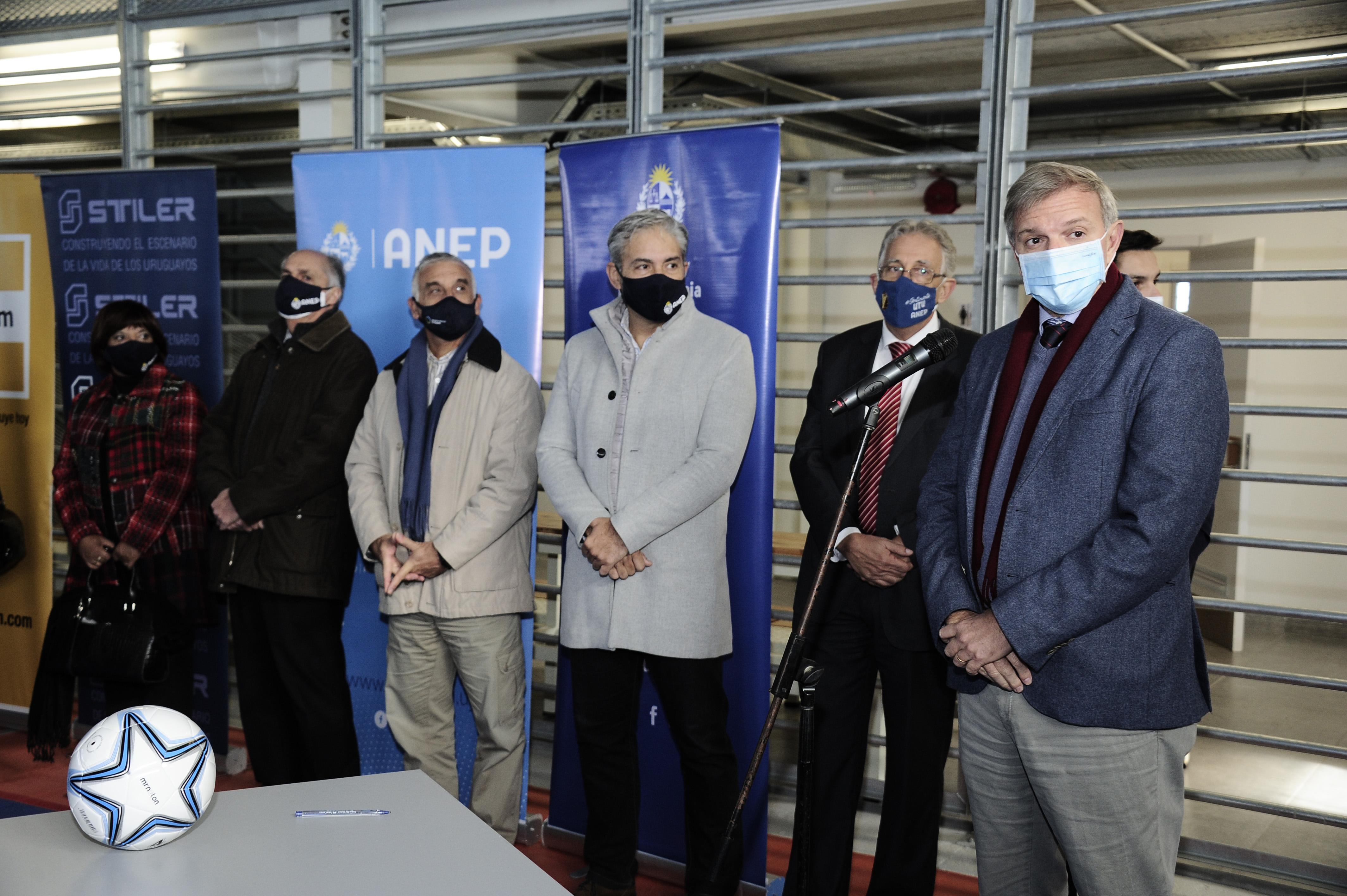 Inauguración de nuevo complejo polideportivo en Ciudad del Plata, departamento de San José
