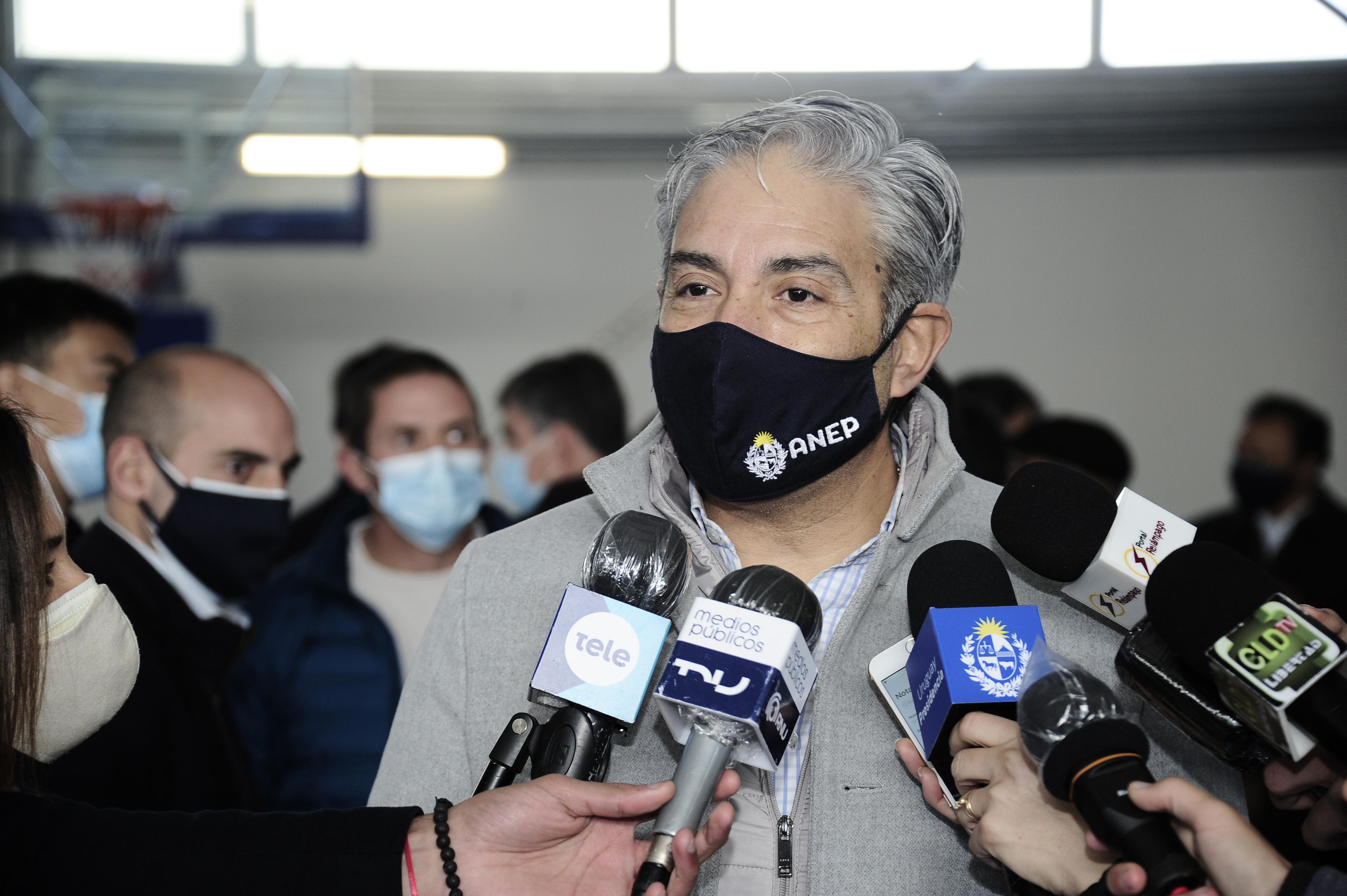 Presidente del Consejo Directivo Central, Robert Silva