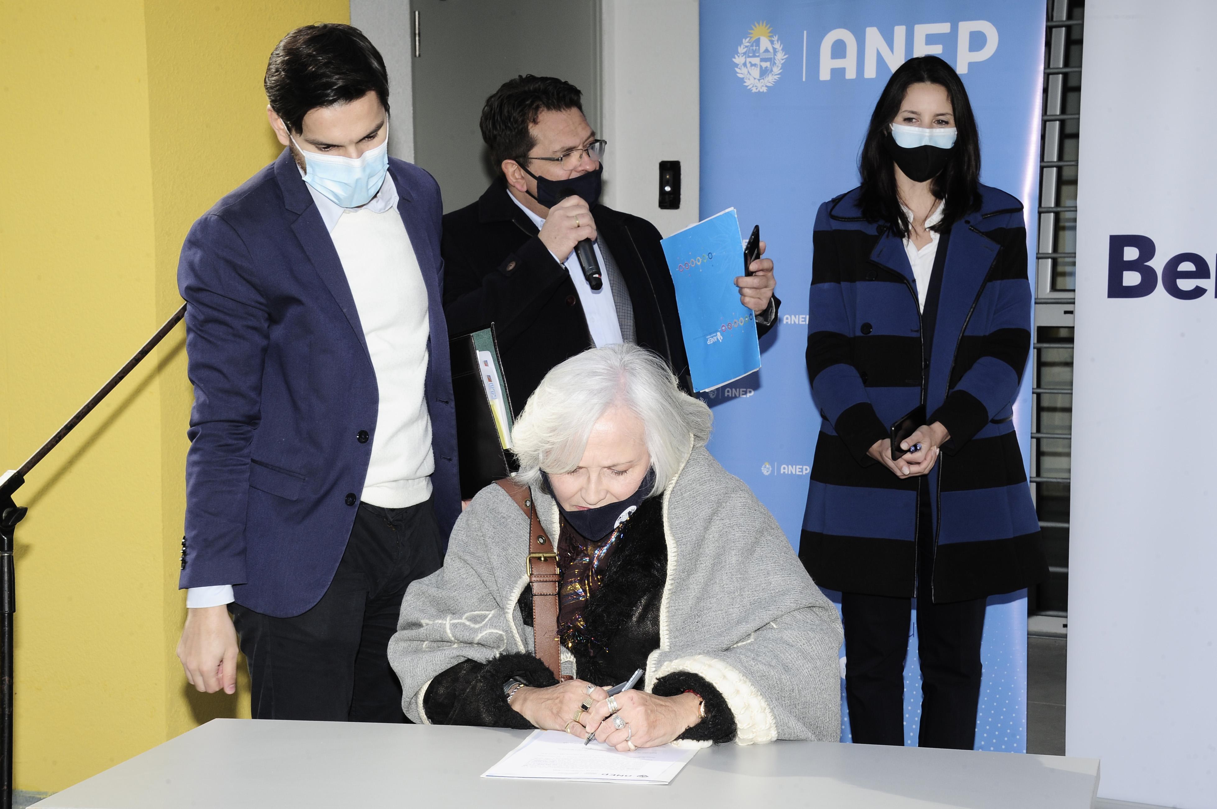 Autoridades de ANEP reciben llaves de obras de infraestructura del instituto de alta especialización en San José de Mayo