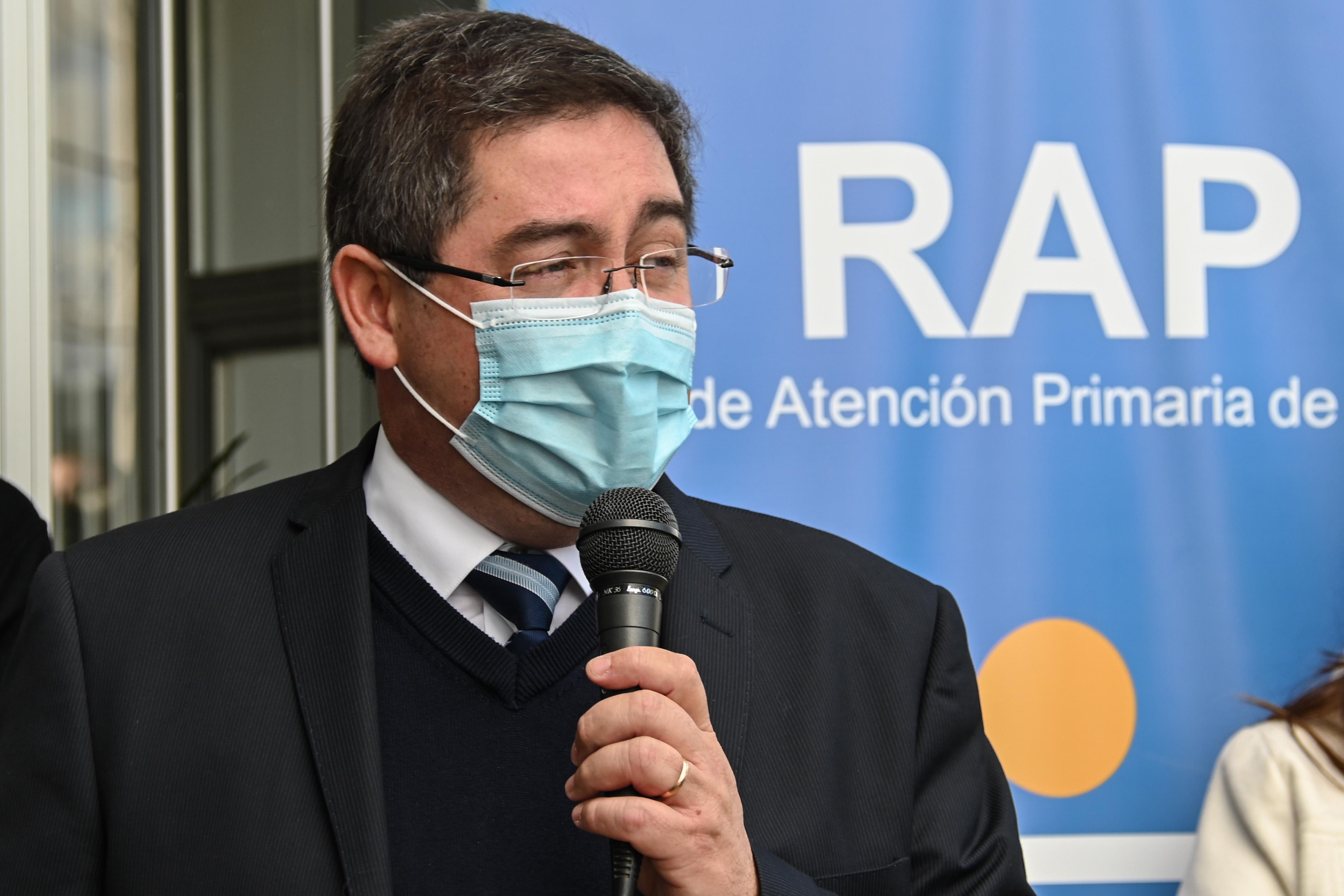 Presidente de la Administración de los Servicios de Salud del Estado, Leonardo Cipriani