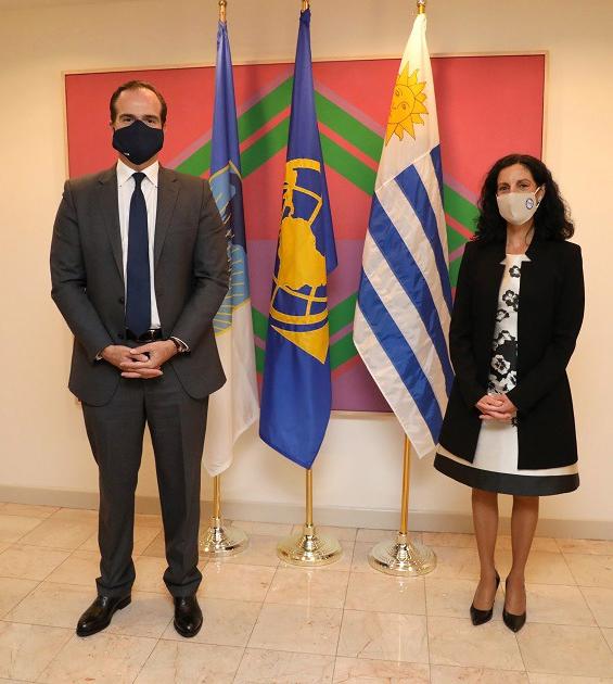 Uruguay será sede de la Asamblea del BID en marzo de 2022